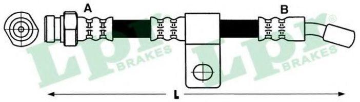Шланг тормозной LPR 6T48181