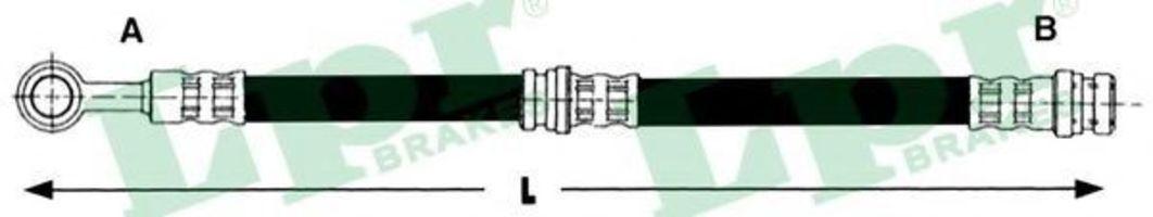 Шланг тормозной LPR 6T47442