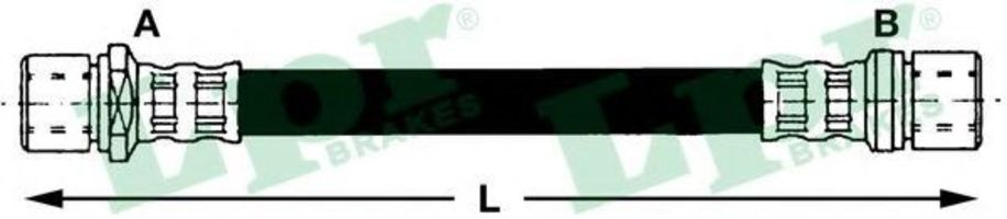 Шланг тормозной LPR 6T48080