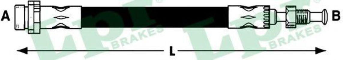 Шланг тормозной LPR 6T47895