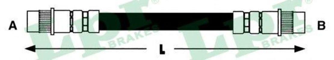 Шланг тормозной LPR 6T46557