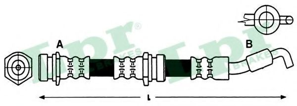 Шланг тормозной LPR 6T47920