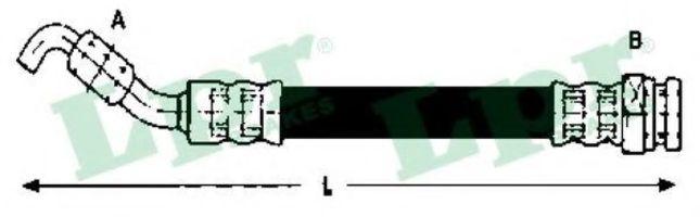 Купить Шланг тормозной LPR 6T48074