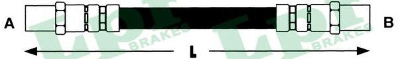 Шланг тормозной LPR 6T46133