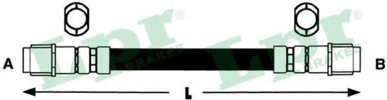 Шланг тормозной LPR 6T47950