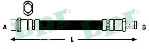 Шланг тормозной LPR 6T47893