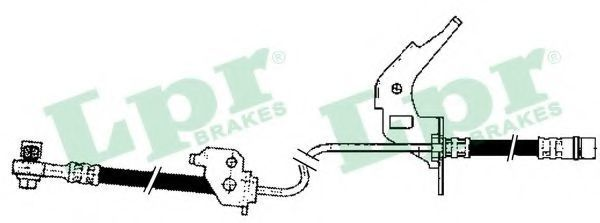 Шланг тормозной LPR 6T47905