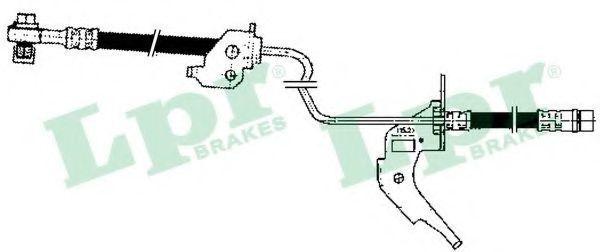 Шланг тормозной LPR 6T47906
