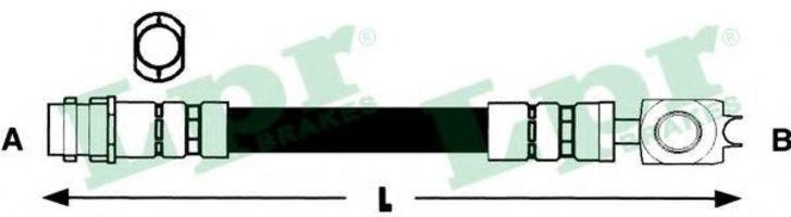 Купить Шланг тормозной LPR 6T46734