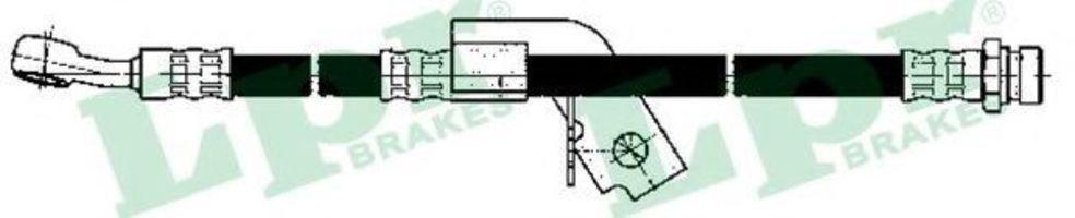 Шланг тормозной LPR 6T48156