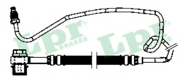 Шланг тормозной LPR 6T48260