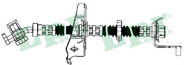 Шланг тормозной LPR 6T46652