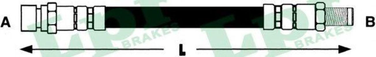 Тормозной шланг LPR 6T46928