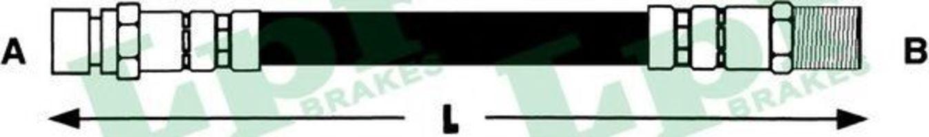 Тормозной шланг LPR 6T46927