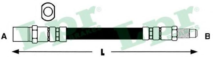 Тормозной шланг LPR 6T46926