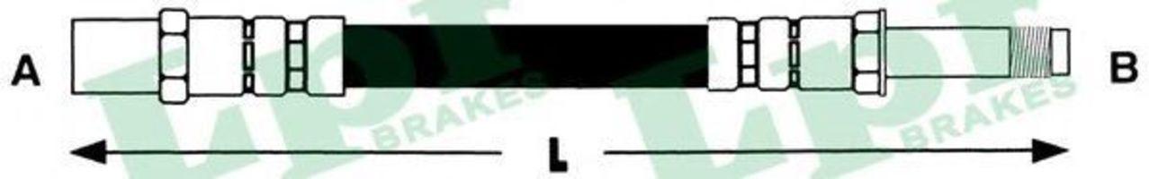 Купить Шланг тормозной LPR 6T46720