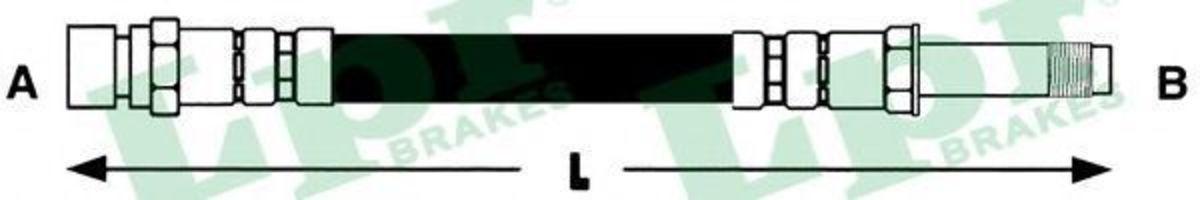 Шланг тормозной LPR 6T48085