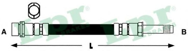 Шланг тормозной LPR 6T47831