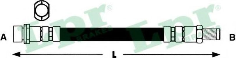 Шланг тормозной LPR 6T47268