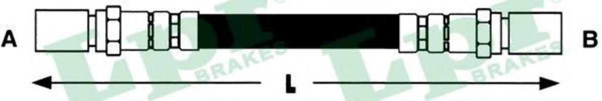 Шланг тормозной LPR 6T46680