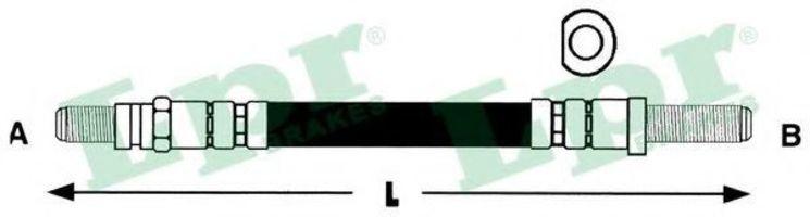 Шланг тормозной LPR 6T46110
