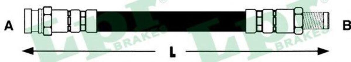 Шланг тормозной LPR 6T46393