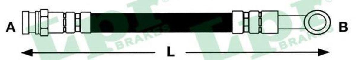 Шланг тормозной LPR 6T48075