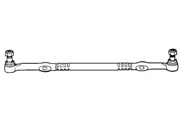 Поперечная рулевая тяга OCAP 0501178