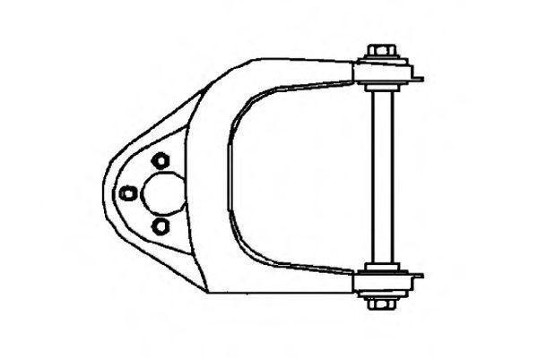 Рычаг независимой подвески колеса, подвеска колеса OCAP 0780583