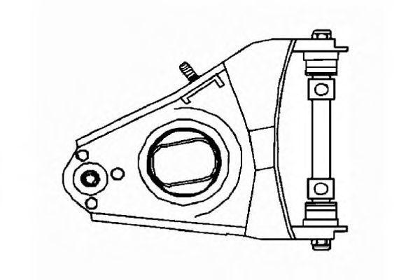 Рычаг независимой подвески колеса, подвеска колеса OCAP 0780584