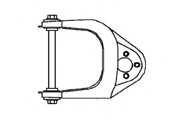 Рычаг независимой подвески колеса, подвеска колеса OCAP 0790583