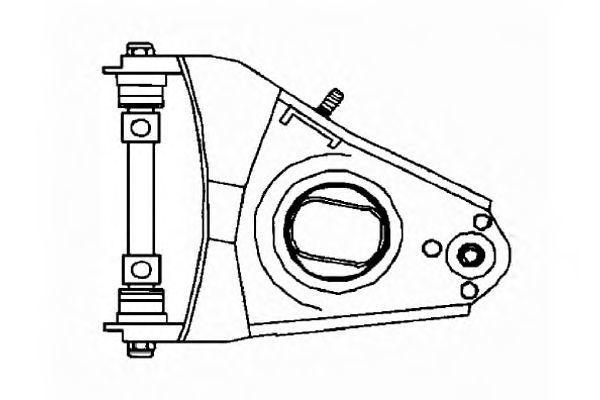 Рычаг независимой подвески колеса, подвеска колеса OCAP 0790584