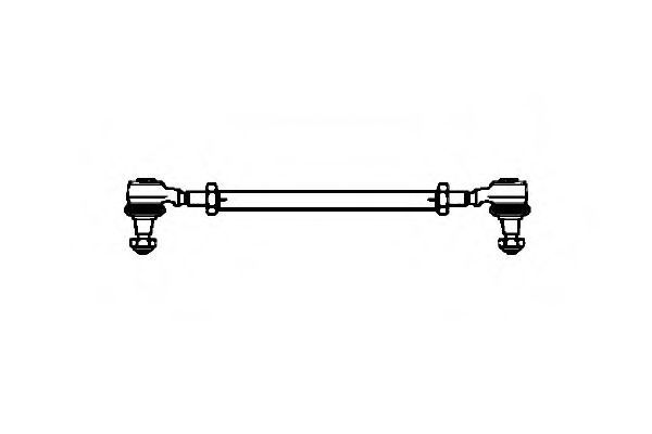 Поперечная рулевая тяга OCAP 0503009