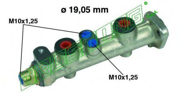 Главный тормозной цилиндр TRUSTING PF067