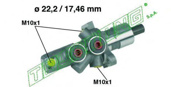 Главный тормозной цилиндр TRUSTING PF156