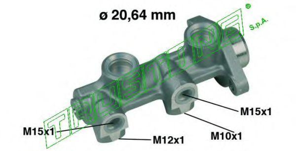 Главный тормозной цилиндр TRUSTING PF162