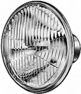 Вставка фары, основная фара HELLA 1B3114179001