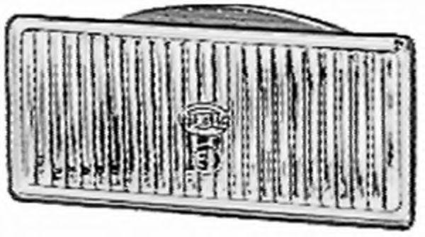 Вставка фары, противотуманная фара HELLA 1NB123581001