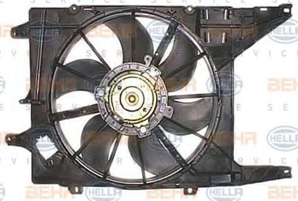 Вентилятор, охлаждение двигателя HELLA 8EW351032221