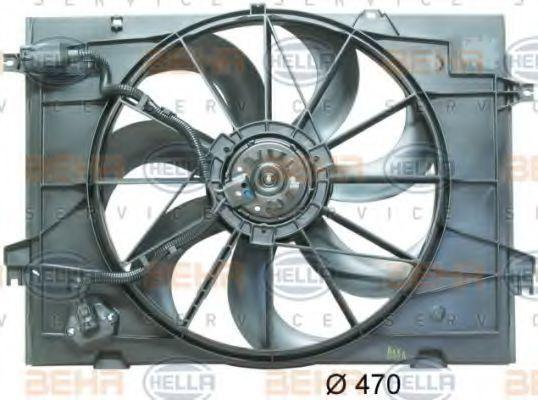 Вентилятор охлаждения двигателя HELLA 8EW351034511