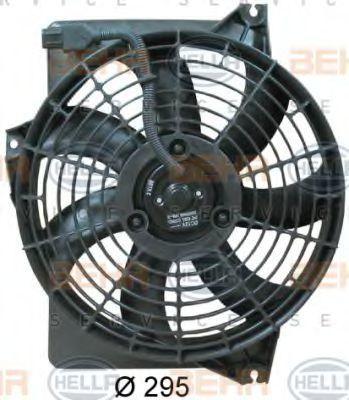 Вентилятор радиатора кондиционера HELLA 8EW 351 034-581