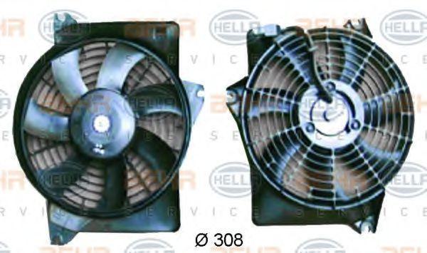Вентилятор радиатора кондиционера HELLA 8EW351034591