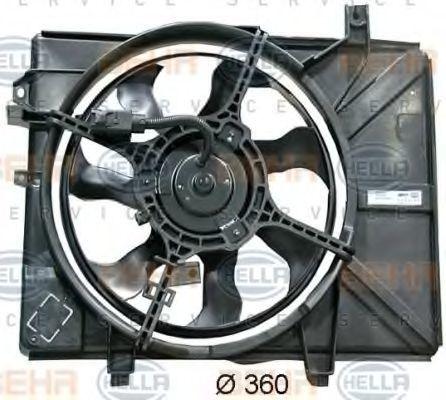 Вентилятор охлаждения двигателя HELLA 8EW 351 034-661