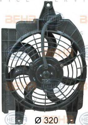 Вентилятор радиатора кондиционера HELLA 8EW 351 034-691
