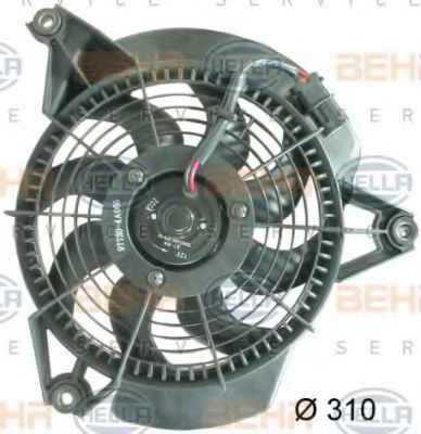 Вентилятор радиатора кондиционера HELLA 8EW351034741