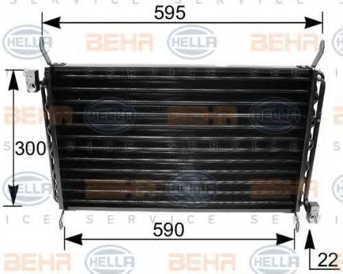Радиатор кондиционера HELLA 8FC 351 035-661