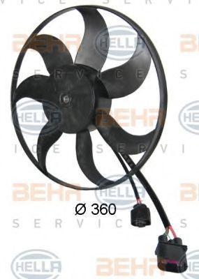 Вентилятор радиатора HELLA 8EW351039171