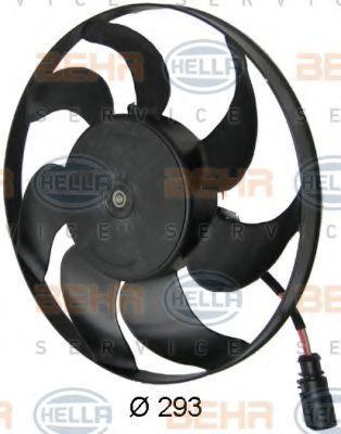 Вентилятор радиатора HELLA 8EW351040391