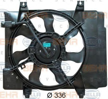 Вентилятор, охлаждение двигателя HELLA 8EW351041331
