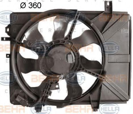 Вентилятор охлаждения двигателя HELLA 8EW 351 041-391